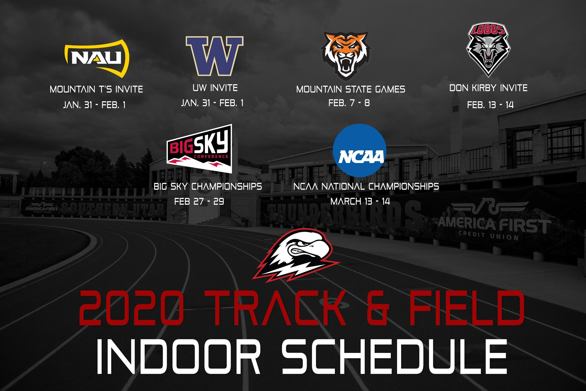 2020 Bowl Games Schedule.Thunderbird Track And Field Announces 2020 Indoor Schedule